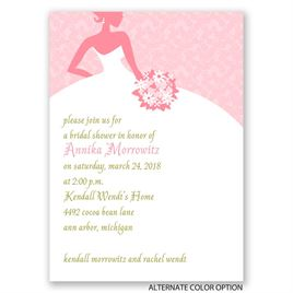 All Style - Mini Bridal Shower Invitation