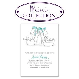 Watercolor Shower Invitations: 
