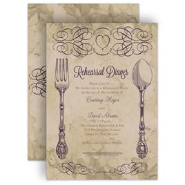 elegant dinner invitations