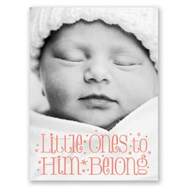 Little Ones - Petite Baptism Invitation