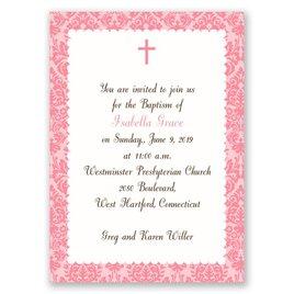 Beautiful Beginnings - Mini Baptism Invitation