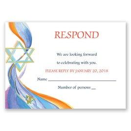 Star of David - Response Card