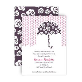 Baby Girl Shower Invitations: 