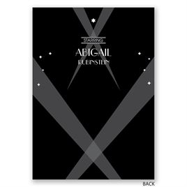 Red Carpet - Bat Mitzvah Invitation