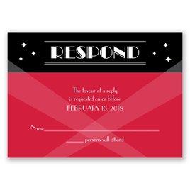 Red Carpet - Response Card