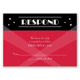 Red Carpet - Response Card
