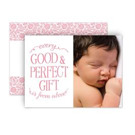 baby girl announcements invitations by dawn