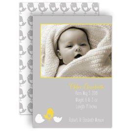 Birth Announcements: Little Chick Birth Announcement