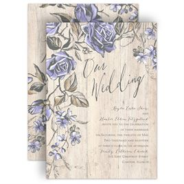 rose wedding invitations invitations by dawn