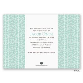 "Baby""s Big Day - Baptism Invitation"