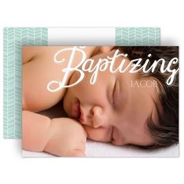 Baptism Invitations: 