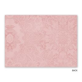 Antique Roses - Foil Reception Card