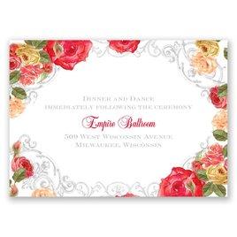 Royal Garden - Reception Card