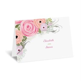 Garden Fresh - Silver - Foil Thank You Card