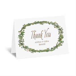 Naturally Perfect - Gold - Foil Thank You Card