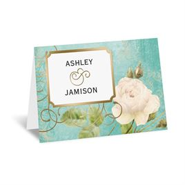 Boho Elegance - Gold - Foil Thank You Card