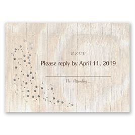 Naturally Fancy - Silver - Foil Response Card