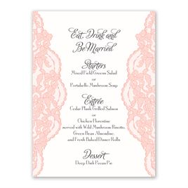 Lacy Gates - Menu Card