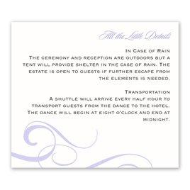 Modern Beauty - Information Card