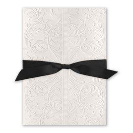 Elegance and Grace - Black Ribbon