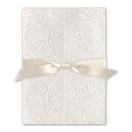 Elegance and Grace - Antique White Ribbon