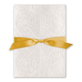 Elegance and Grace - Gold Ribbon