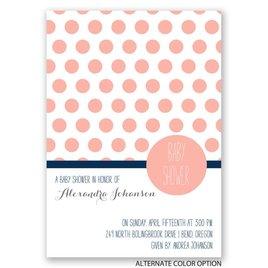 Pattern Love - Baby Shower Invitation