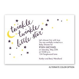 Little Star - Baby Shower Invitation