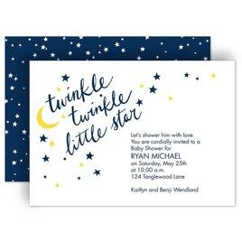 David Tutera Baby Shower Invitations: Little Star Baby Shower Invitation