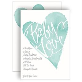 David Tutera Baby Shower Invitations: 