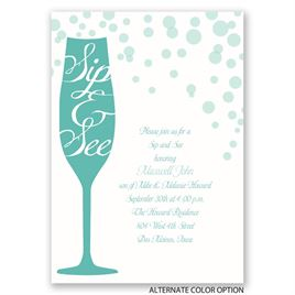 Small Celebration - Baby Shower Invitation