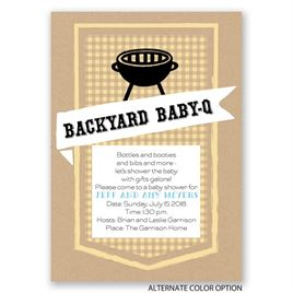 Bottles and Bibs - Baby Shower Invitation