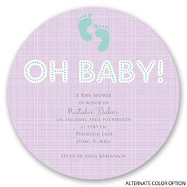 Modern Marquee - Baby Shower Invitation
