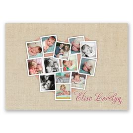 Photo Collage - Birth Announcement