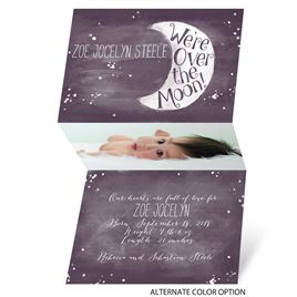 Moonlit Love - Mini Birth Announcement