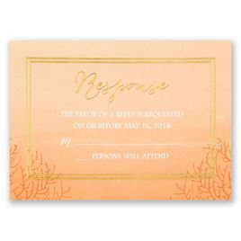 Sea Beauty - Corabell - Foil Response Card
