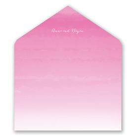 Sea Beauty - Fuchsia - Designer Envelope Liner