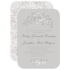 Chocolate Wedding Invitations: 