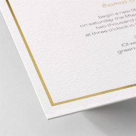 Gold Lining - Invitation