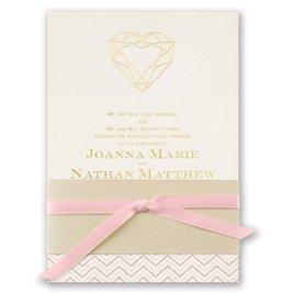 Jewel of My Heart - Light Pink Satin Ribbon