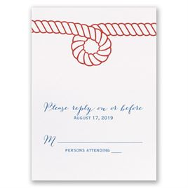 Nautical Style - Response Card