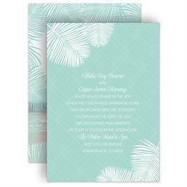beach wedding invitations invitations by dawn