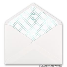 Miami Breeze - Designer Envelope Liner