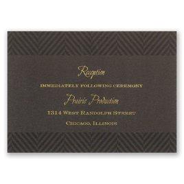 Truly Distinguished - Reception Card