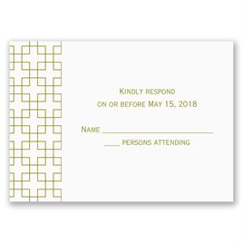 Simple Elegance - Response Card