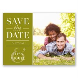 Big Plans - Save the Date Postcard