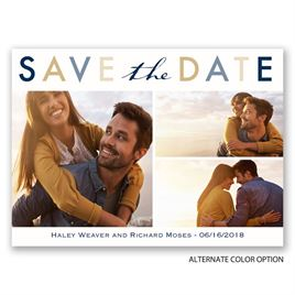 Simple Style - Save the Date Postcard