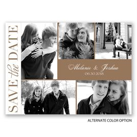 Photo Faves - Save the Date Postcard