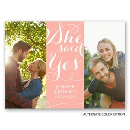 Good News - Save the Date Postcard