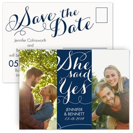 Modern Save The Dates: 